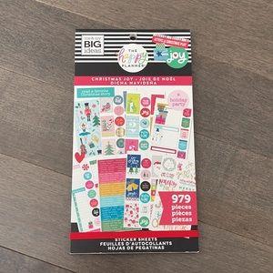 HAPPY PLANNER Christmas Joy Sticker Book